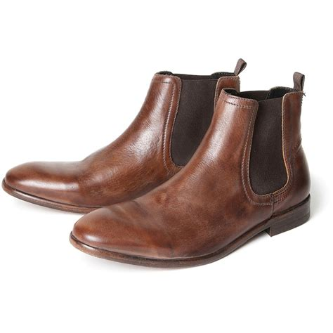 mens chelsea boots h by hudson boots patterson leather mens chelsea boot