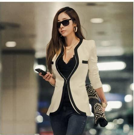 Coat Korea Fashion Blazer Luaran Outer Dress Jaket Baju Wanita Import 5 new 2013 autumn summer korean style fashion v neck sleeve white blazer casual jackets