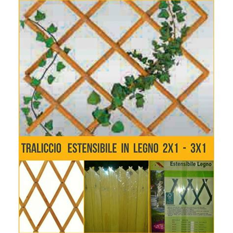 traliccio in legno griglia traliccio estensibile in legno naturale 2x1 3x1