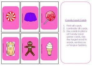 candyland board template 6 best images of candyland cards printable