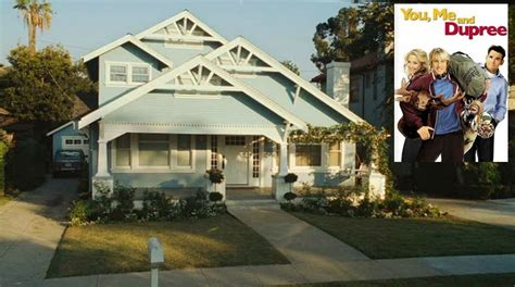 owen wilson house the blue craftsman bungalow from quot you me and dupree quot