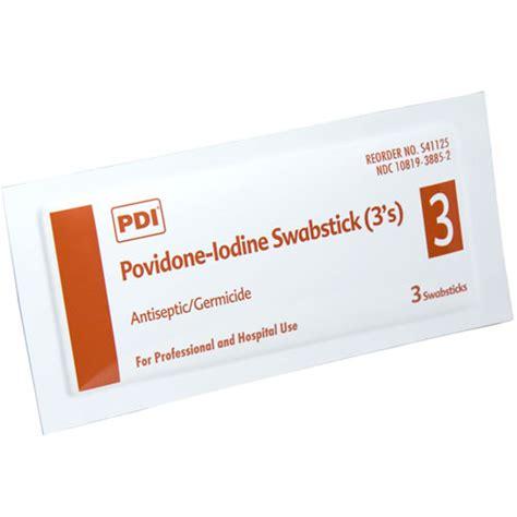 Betadine Stick povidone iodine swabsticks
