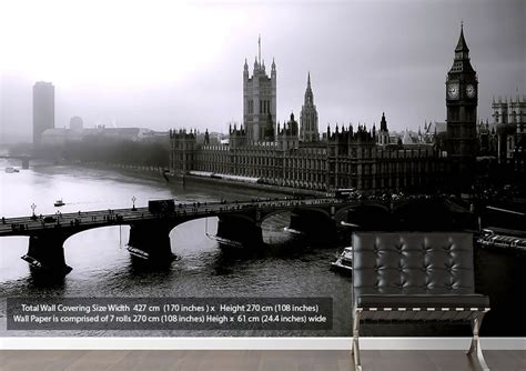 black and white london wallpaper for walls london black and white architecture wallpaper printed wall