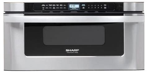 sharp 30 microwave drawer kb6525ps sharp kb6525ps 30 inch built in microwave drawer with 1 2