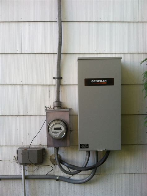 generac transfer switch install generator