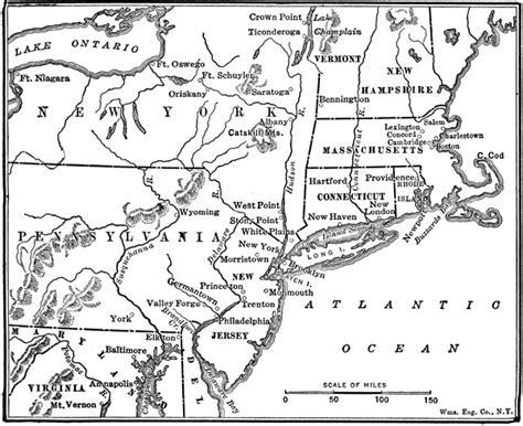 american battles map maps of battles of the revolutionary war