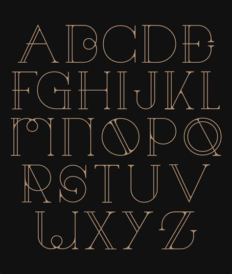 font pattern art 29 eye catching art deco fonts web graphic design