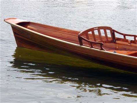 boten bouwen double wherry in hout