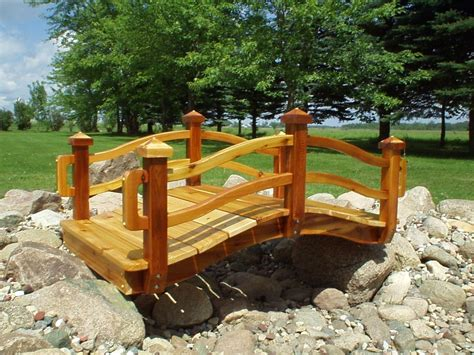 how to make a wooden bridge garden bridges handcrafted wooden bridges