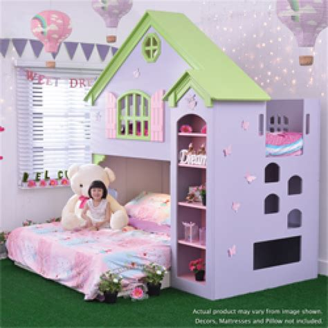 dollhouse bed dollhouse playbunk bed with bed base