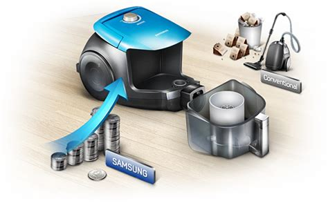 Samsung Canister Vacuum Cleaner samsung canister vacuum cleaner with chamber system