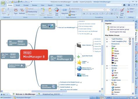 amazon com mindjet mindmanager 8 old version