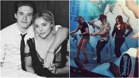 Beckhams Hit Disneyland by Meghan Trainor Tags Along With Grace Moretz And