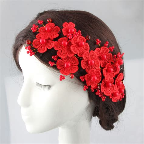 Handmade Wedding Hair Accessories - new arrive handmade bridal hair flower silk blossom hair