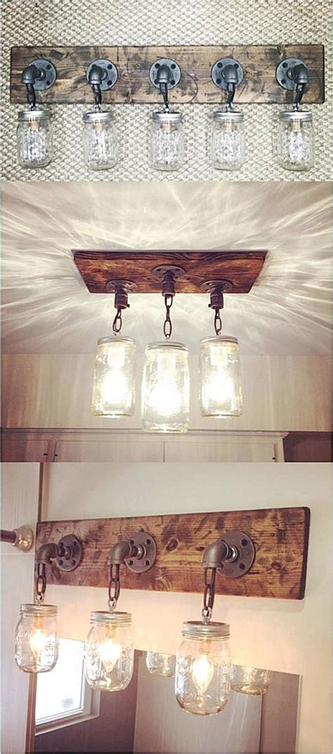 diy bathroom light fixtures 36 best farmhouse bathroom design and decor ideas for 2017