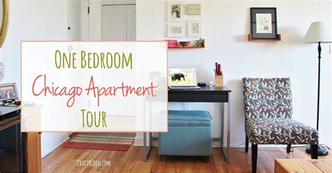 chicago one bedroom apartment one bedroom chicago apartment tour crafty coin