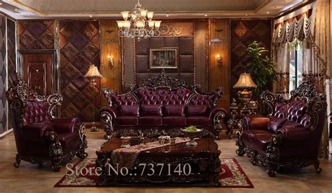 sofa set living room furniture luxury genuine leather sofa