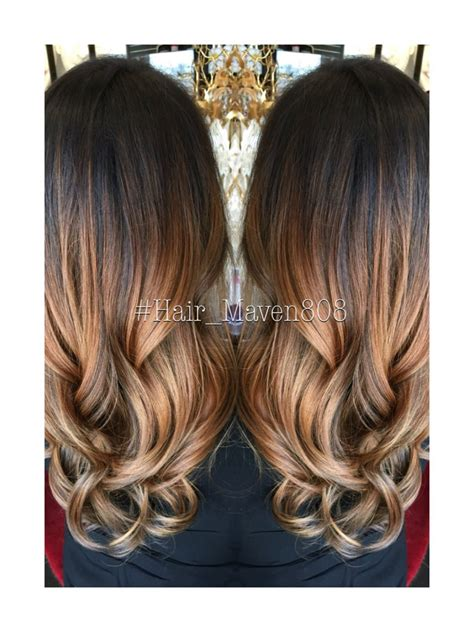 color melt hair styles mocha latte color melt hairstyles hair styles hair