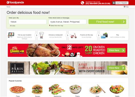 swinging lifestyle homepage convenient cuisine my first foodpanda experience