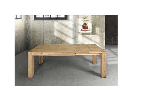 tavolo allungabile in legno massiccio tavolo in legno massiccio abete allungabile tavoli a