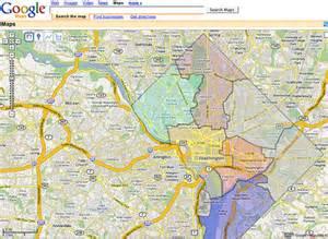 Google Map Washington Dc by Dc Wards Google Map Flickr Photo Sharing