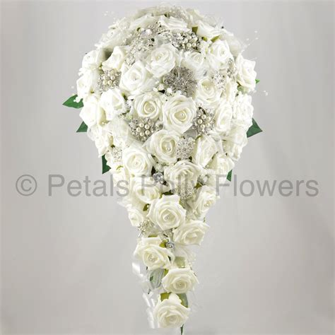 Handmade Artificial Flowers - handmade artificial flowers s teardrop bouquet with