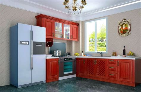 Www Kitchen Interior Design Photo Kitchen Interior Design With Cabinets Neo Classical 3d House