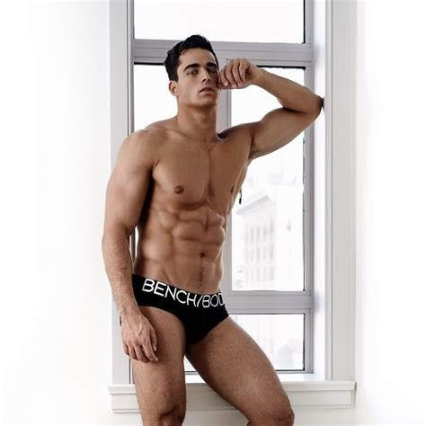 bench underwear model pietro boselli for bench homorazzi media