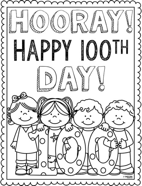 100th day of school coloring page free coloring pages on