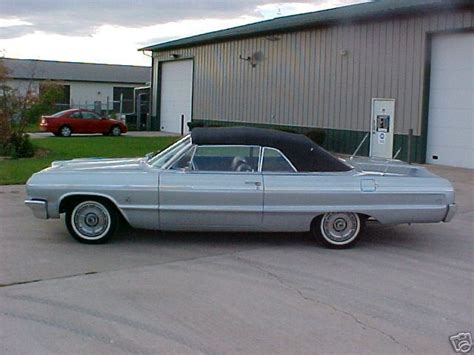 silver 64 impala 1964 impala ss convertible silver 3 xframechevy