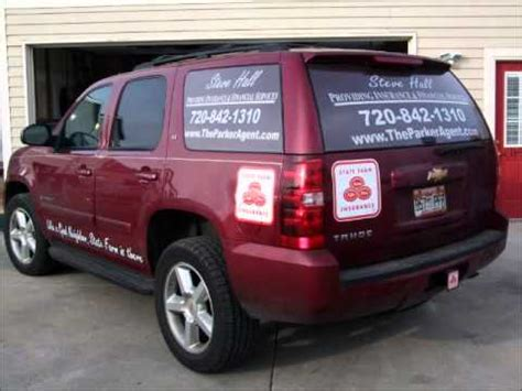 State Farm V Brewer Car by State Farm Insurance Signs Vehicle Graphics Printing And