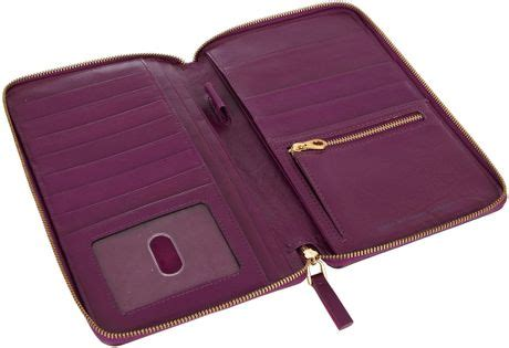 Marc By Marc Dot Travel Wallet by Marc By Marc Pink Sophisticato Leather Travel