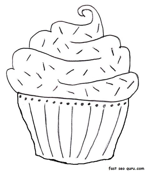 birthday cake coloring page free printable printable blueberry muffin birthday cake coloring page