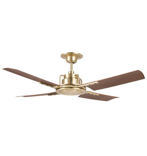 gold ceiling fan with light peregrine ceiling fan brushed satin walnut brown blades