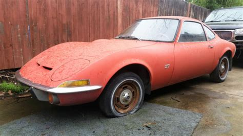 Opel Gt 1968 1968 Opel Gt 2 Door Coupe Vintage Car Great