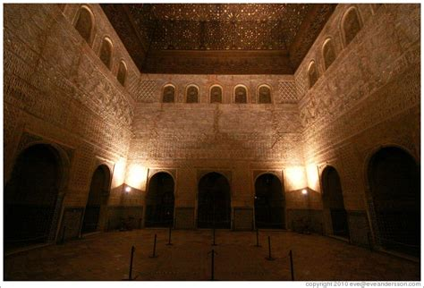 Small Home Designs comares hall nasrid palace alhambra at night photo id