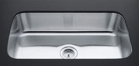 Kohler Undertone Kitchen Sink by Kohler K 3183 Na Undertone Undercounter Single Compartment