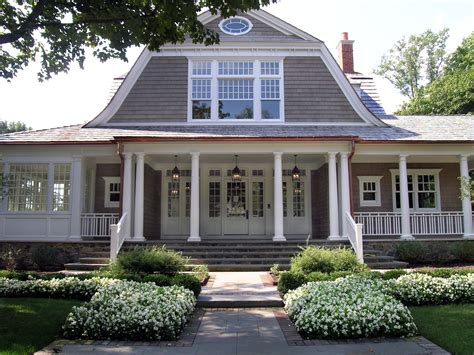 dutch style house love this house with the gambrel roof line and wrap around
