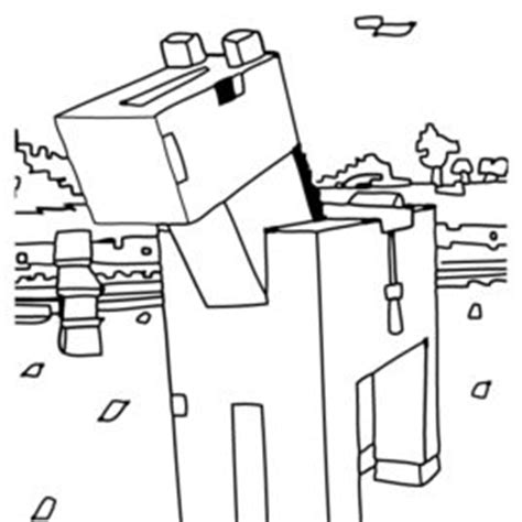 minecraft coloring pages horse minecraft horse coloring pages to print coloring pages