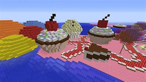 House Building Ideas candy land minecraft project