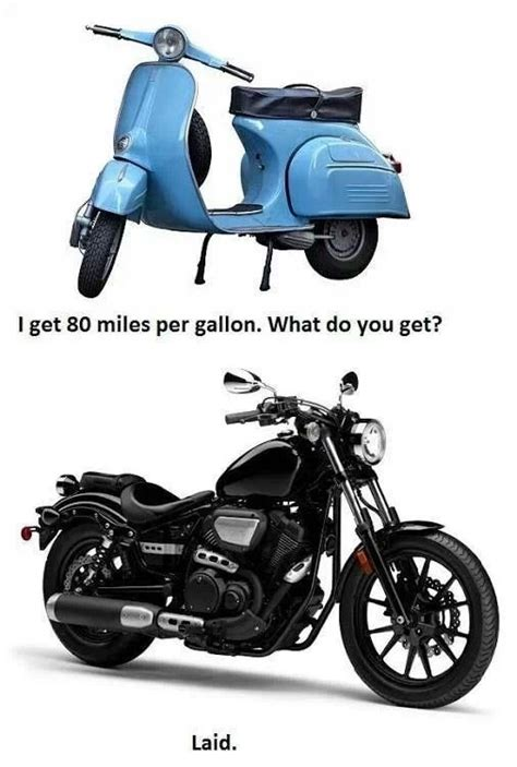 Motorrad Vs Roller by Scooter Vs Motorcycle Meme