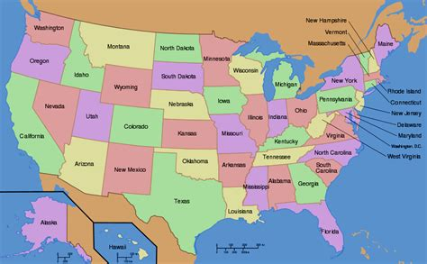 maps of the us us map