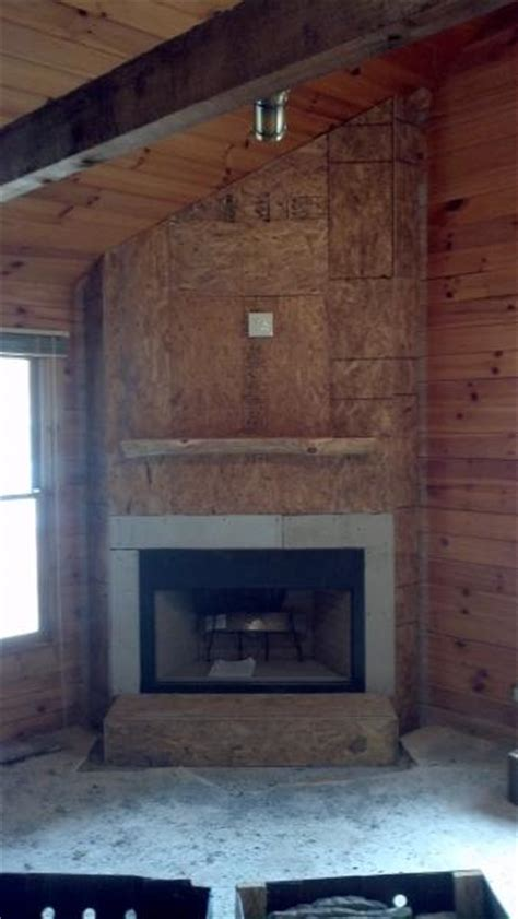 how to cover a brick fireplace with drywall sheetrock chimney brick doityourself community