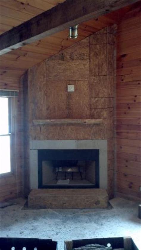 Drywall Brick Fireplace by Sheetrock Chimney Brick Doityourself Community Forums