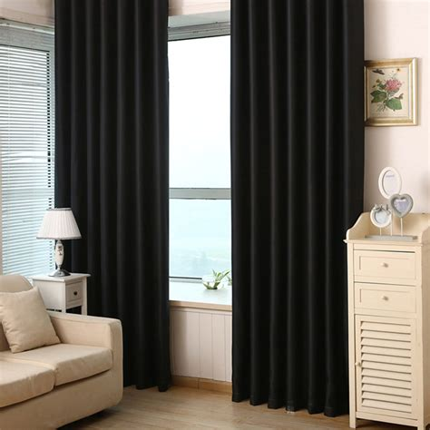 black curtains for bedroom compare prices on black curtain hooks online shopping buy