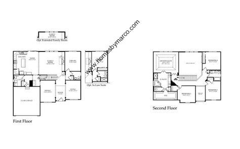 birmingham floor plan birmingham model in the winchester glen subdivision in carpentersville illinois homes by marco
