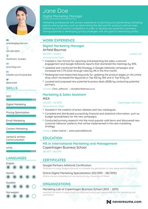 best resume format for experienced marketing professionals how to write a resume in 2018 guide for beginner