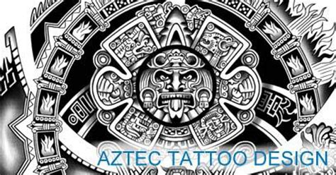 aztec tattoos amp templates calendar tattoo get yours
