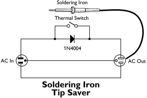 circuit diagram of soldering iron nuts volts magazine for the electronics hobbyist