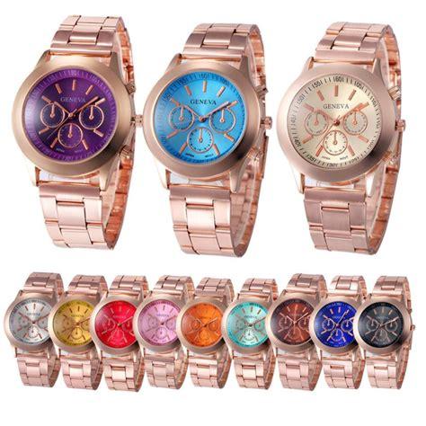 durable 2016 reloj hombre geneva stainless